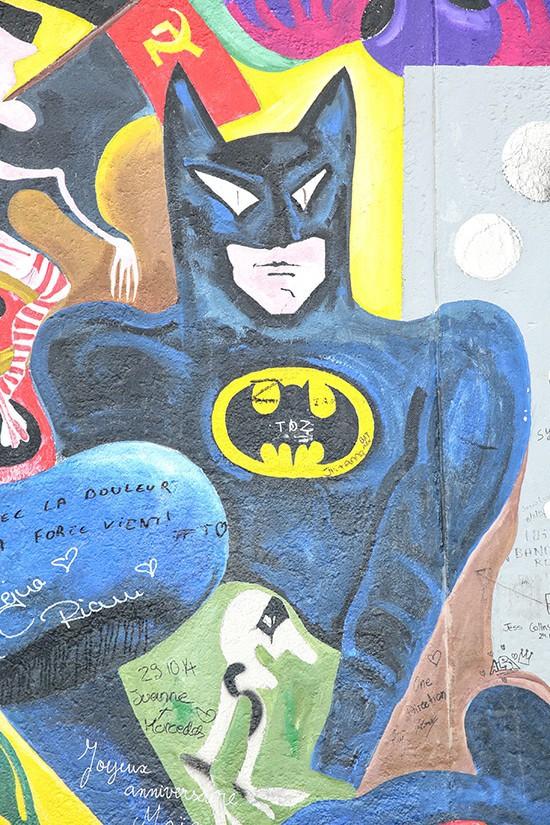Batman - East Side Gallery - Berlijn