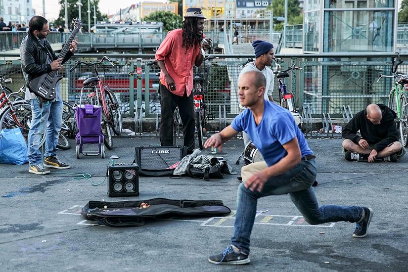Citytrip Berlijn - Straatmuzikanten