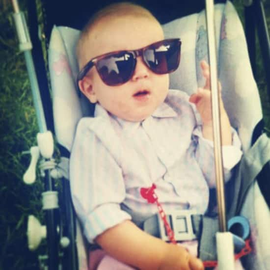 Laurens M als baby