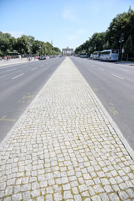 Straße des 17. Juni - Tiergarten - Berlijn