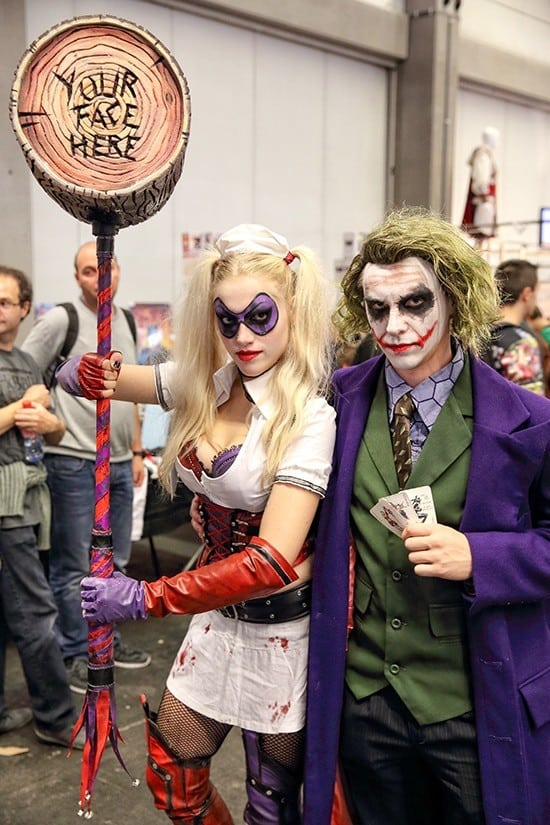 FACTS 2015 - Cosplay - The Joker & Harley Quinn