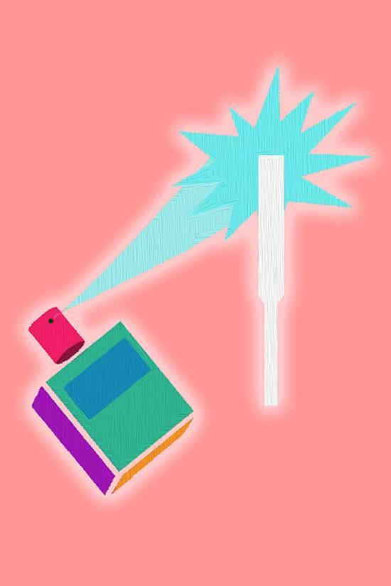 Parfum kiezen - in 9 tips naar een topgeur - Gebruik Papier - via AGMJ - kopie