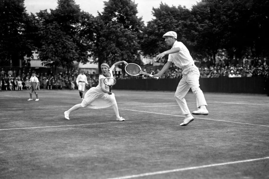 Lacoste at International Tennis Party in Roehampton -1920 - AGMJ