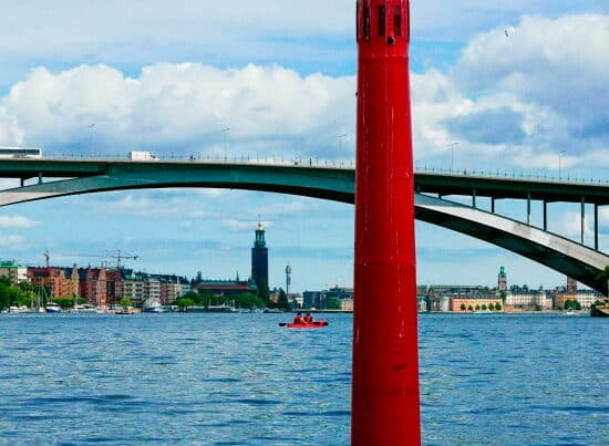 Citytrip Stockholm - Uitzicht op de Västerbron