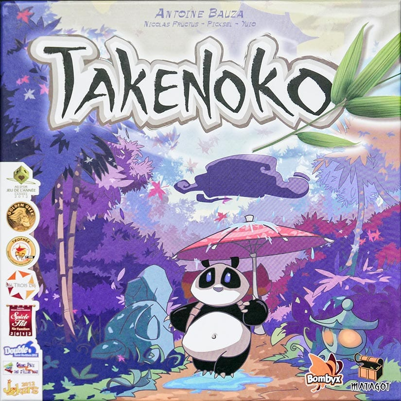 Board Game Review - Takenoko Review - Doos - door AGMJ - I