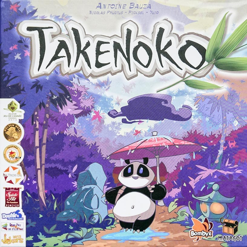 Board Game Review - Takenoko Review - Doos - door AGMJ - II