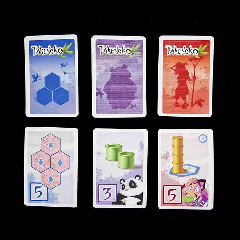 Board Game Review - Takenoko Review - Kaarten - door AGMJ - III