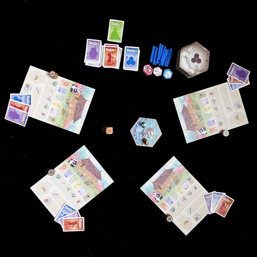 Board Game Review - Takenoko Review - Opstelling - door AGMJ - I