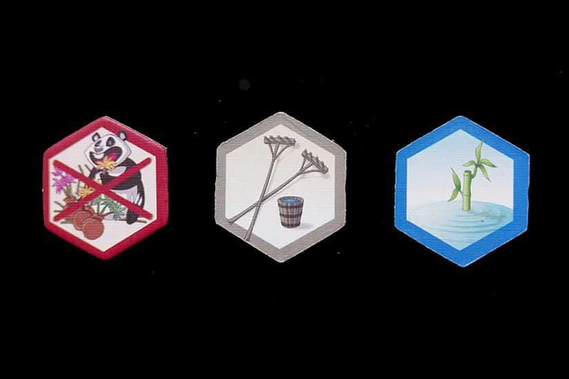 Board Game Review - Takenoko Review - Perceelverbeteringen - door AGMJ