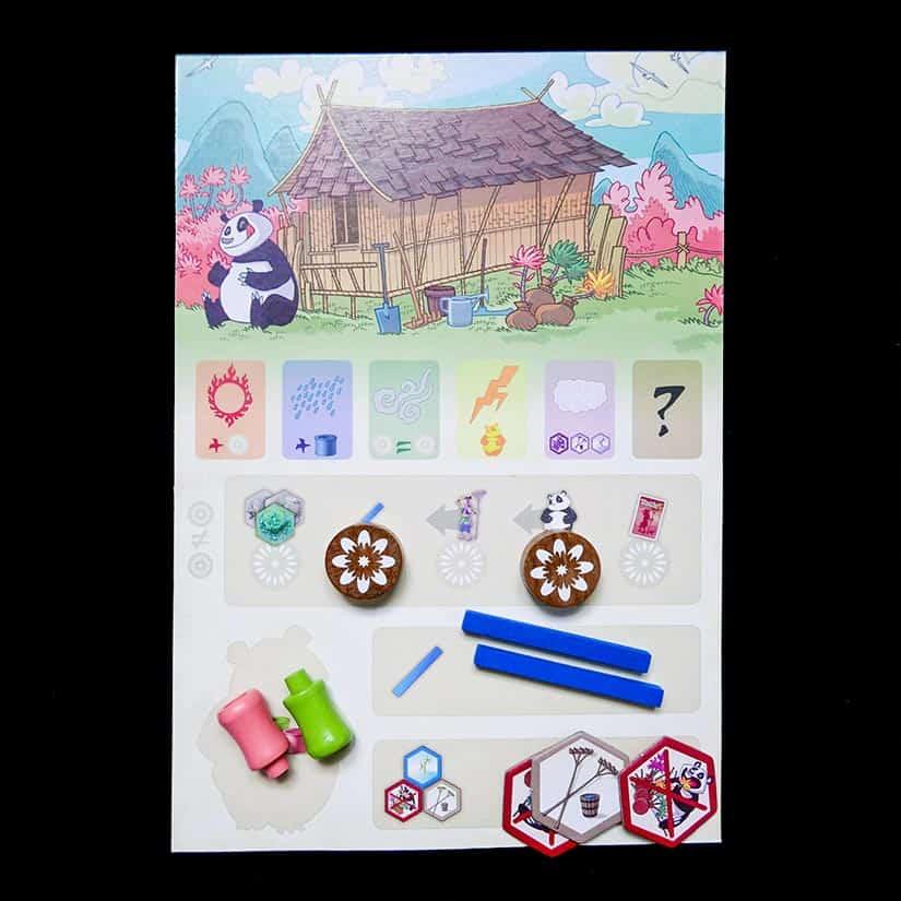 Board Game Review - Takenoko Review - Spelersbord - door AGMJ - I