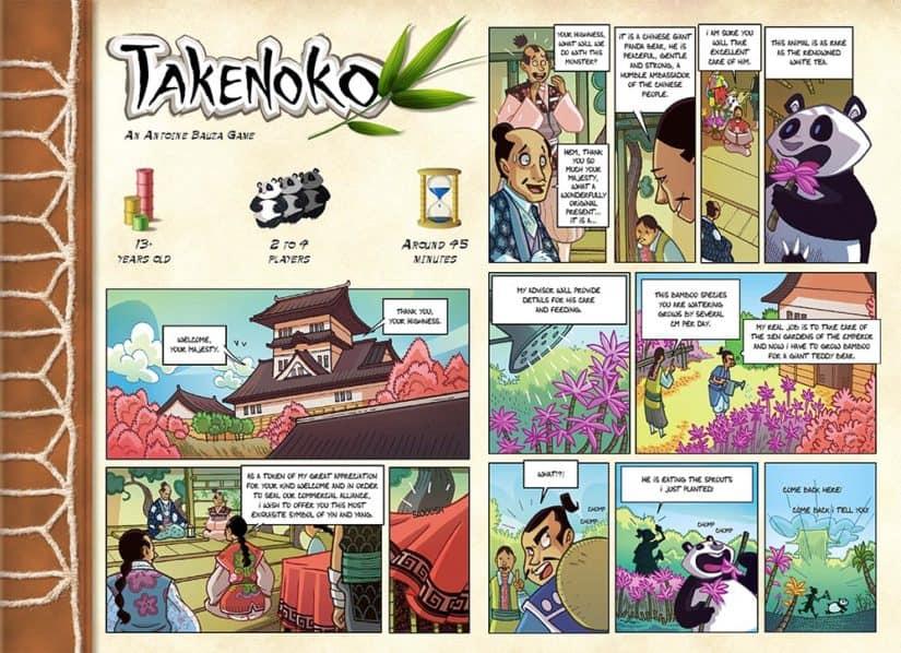 Board game review Takenoko - Takenoko Review - Comic - door AGMJ