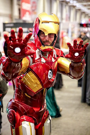Wat is cosplay en waar komt het vandaan - Ironman - door AGMJ