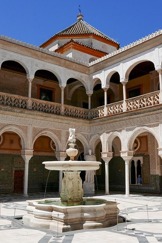 Citytrip Sevilla Bezienswaardigheden - Casa de Pilatos - door AGMJ