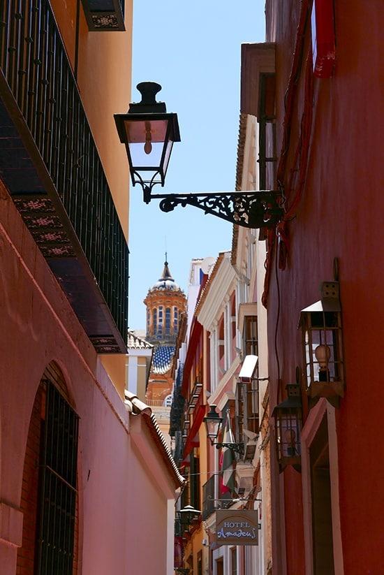 Citytrip Sevilla Bezienswaardigheden - Gezellige steegjes - door AGMJ