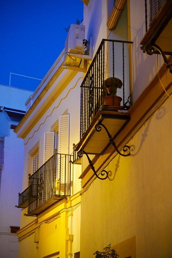 Citytrip Sevilla Bezienswaardigheden - Gezellige steegjes met hondjes - door AGMJ