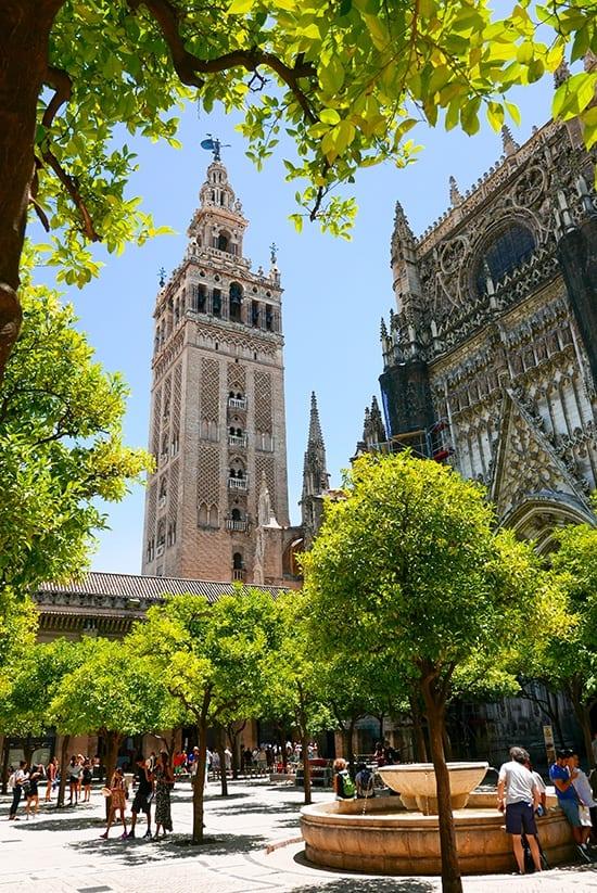 Citytrip Sevilla Bezienswaardigheden - La Giralda - door AGMJ
