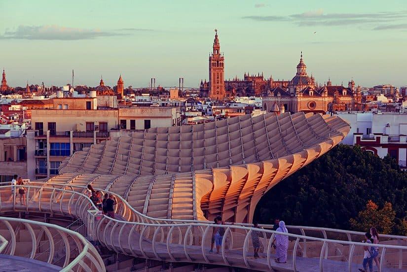 Citytrip Sevilla Bezienswaardigheden - Metropol Parasol - door AGMJ - 2