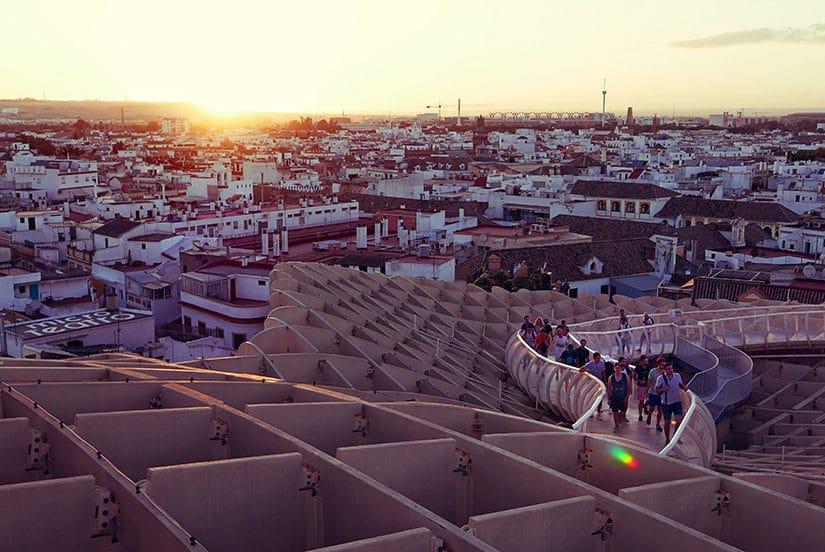 Citytrip Sevilla Bezienswaardigheden - Metropol Parasol - door AGMJ - 3