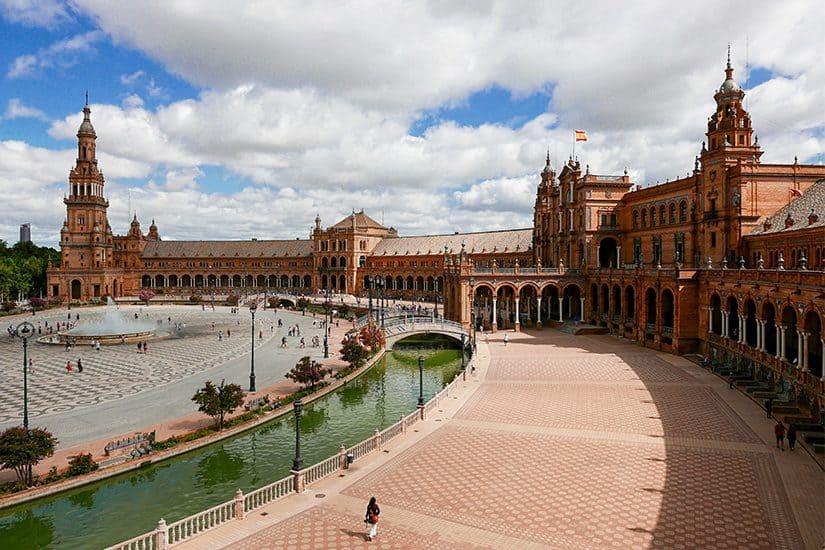 Citytrip Sevilla Bezienswaardigheden - Plaza de España - door AGMJ - 1