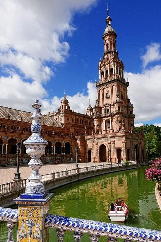 Citytrip Sevilla Bezienswaardigheden - Plaza de España - door AGMJ - 2