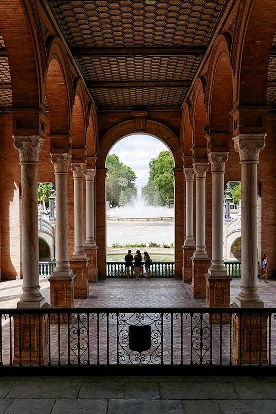 Citytrip Sevilla Bezienswaardigheden - Plaza de España - door AGMJ - 3