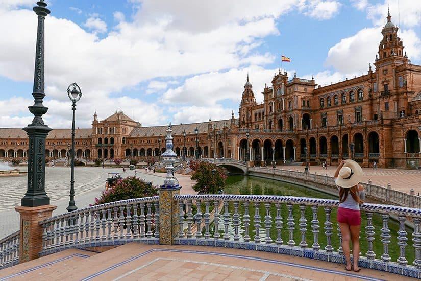 Citytrip Sevilla Bezienswaardigheden - Plaza de España - door AGMJ