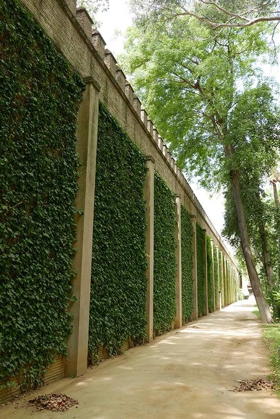 Citytrip Sevilla Bezienswaardigheden - Muren van het Real Alcázar de Sevilla - door AGMJ