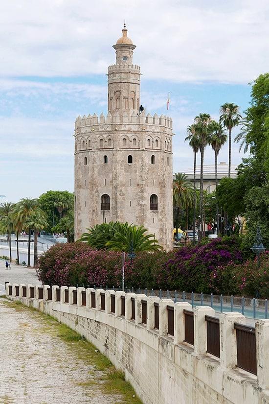 Citytrip Sevilla Bezienswaardigheden - Torre del Oro - door AGMJ
