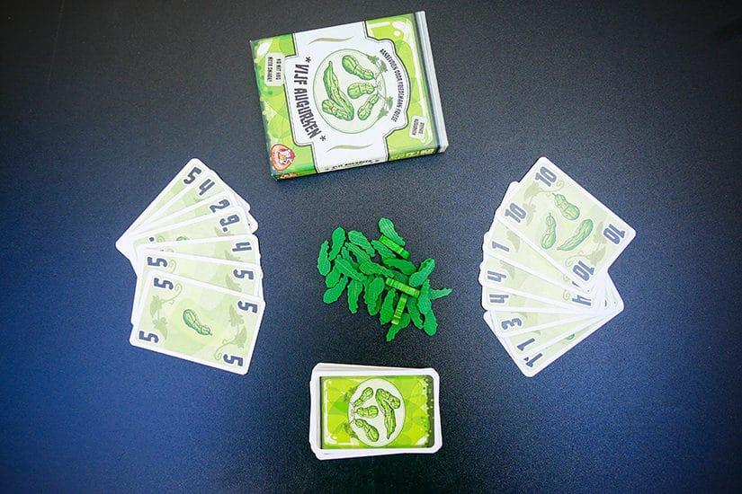 Card Game Review - 5 Augurken - door AGMJ - 3 - S