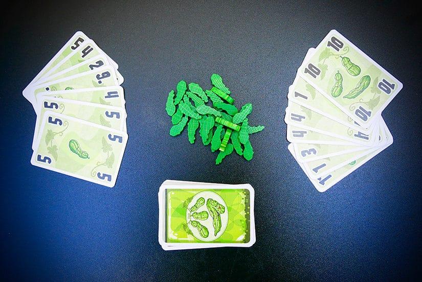 Card Game Review - 5 Augurken - door AGMJ - 5 - S