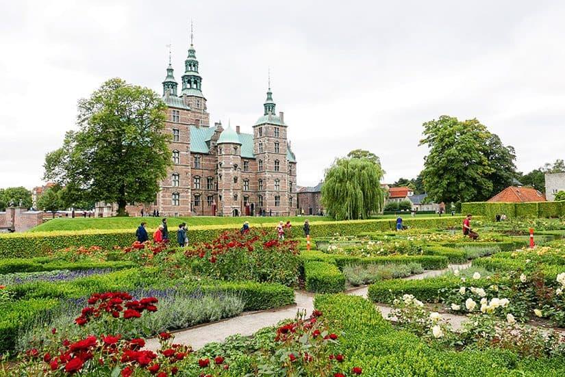 Citytrip Kopenhagen bezienswaardigheden - Rosenborg Slot - door AGMJ