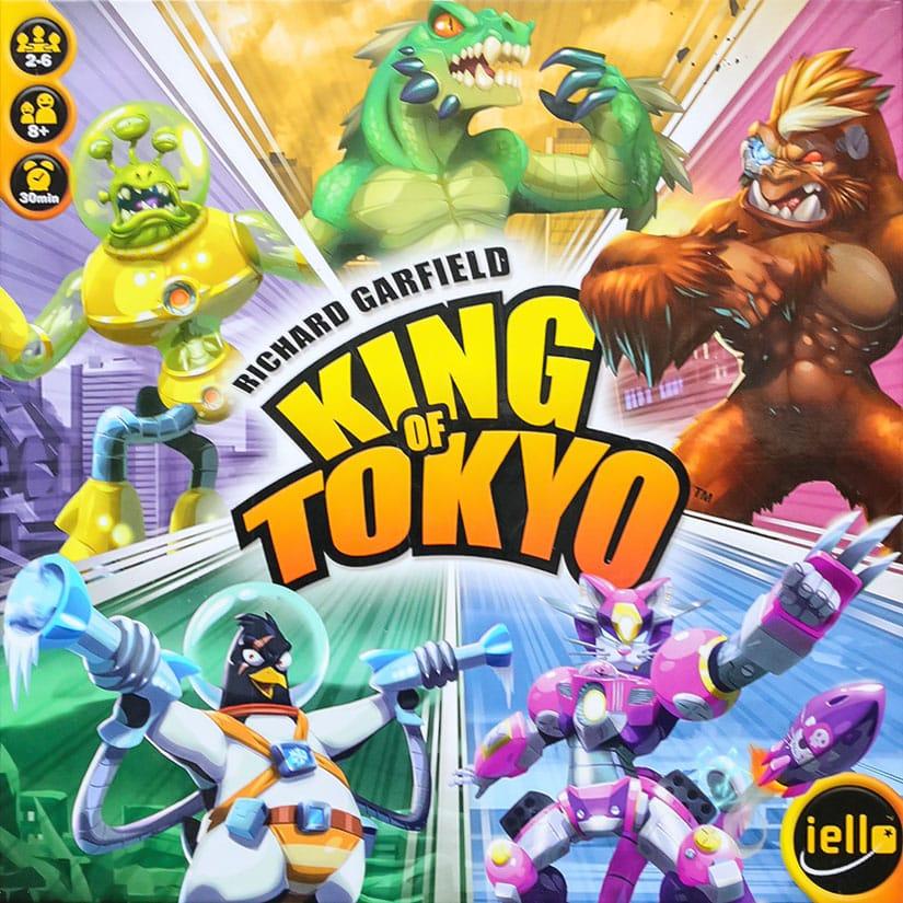 Board Game Review - King of Tokyo - via AGMJ