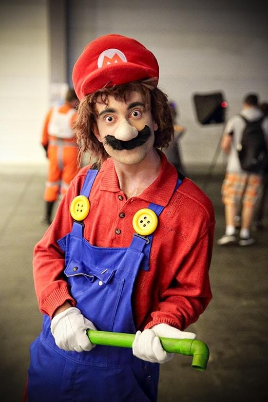 FACTS 2018 - Fall Edition - Manic Mario - Nintendo cosplay - door Laurens M - via AGMJ