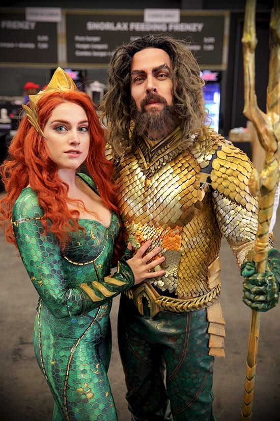 FACTS 2018 - Fall Edition - Aquaman & Mera cosplay - door Laurens M - via AGMJ
