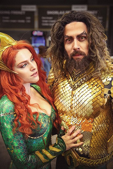 FACTS 2018 - Fall Edition - FI - Aquaman & Mera - door Laurens M - via AGMJ