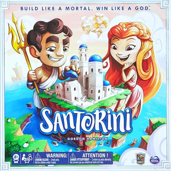 Bordspel review Santorini - Spel review door Laurens M - via AGMJ