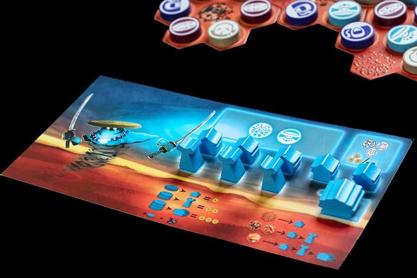 Bordspel-review Ekö - Bordspel Ekö - Spelreview - Win jij de vervloekte eeuwige machtsstrijd - door Laurens M - via AGMJ - 7