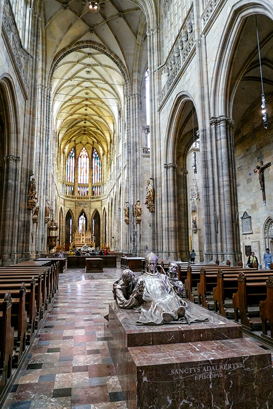 Sint-Vituskathedraal - Hradčany - Citytrip Praag bezienswaardigheden - Reistips van Laurens M - via AGMJ.be - 80