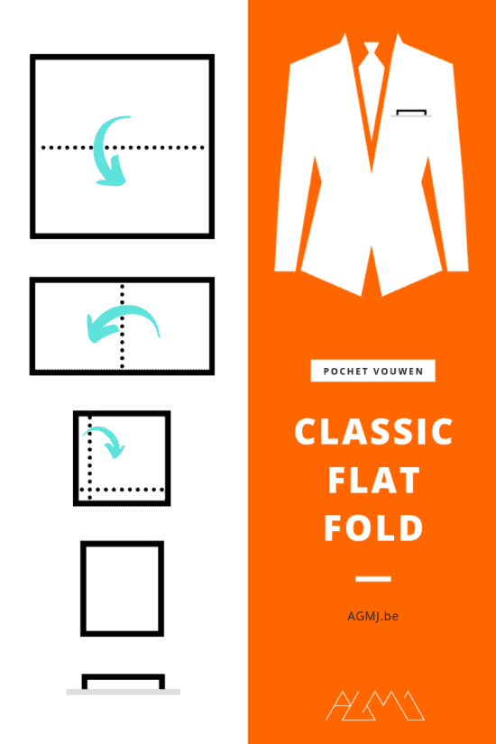 The Classic Flat Fold - pochet vouwen - fashion blog - door Laurens M - via AGMJ