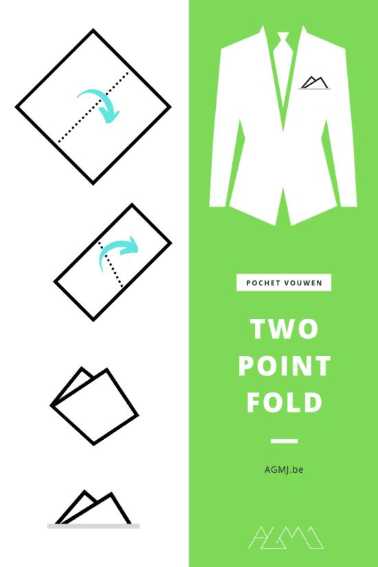 The Two Point Fold - pochet vouwen - fashion blog - door Laurens M - via AGMJ